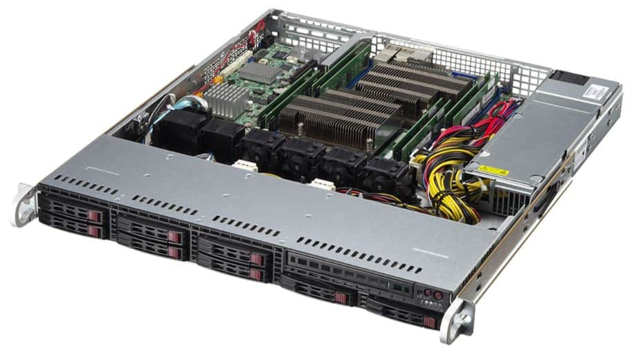 axxiv Rack-Server CUN VERVA R1E330